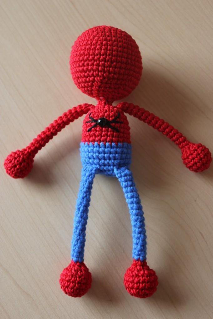 Crochet Spiderman - free amigurumi pattern | Craft_Crochet_Toys ...