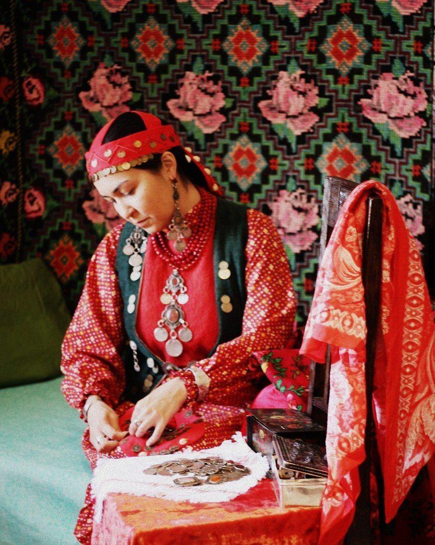 Башкирский костюм | Народный костюм, Костюм, Выкройки
