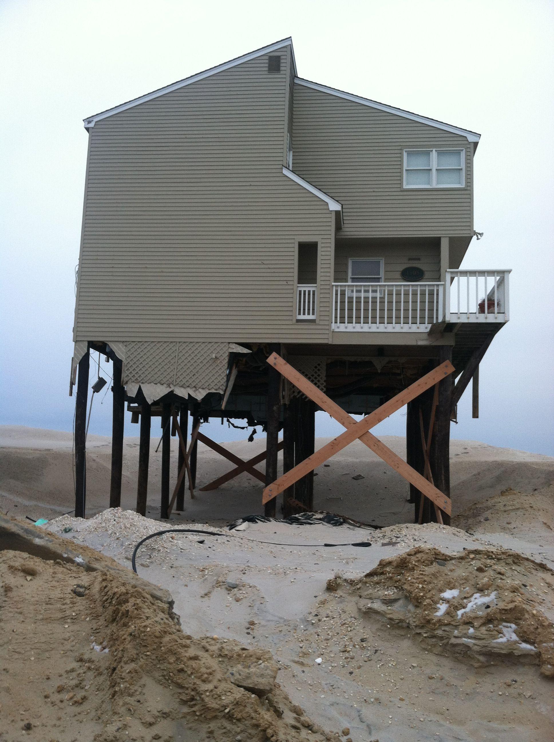 Aftermath Of Hurricane Sandy Holgate Long Beach Island Nj Long Beach Island Hurricane Sandy Barnegat Lighthouse