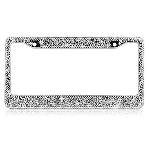 Shop https://goo.gl/wHgVXv   ShowTop Pure Handmade Luxury Crystal Bling Bling Rhinestones Aluminium Car License Plate Frame Cover for Women Mixed Drill 1 Piece    Price 59.99   Go to Store https://goo.gl/wHgVXv  #1 #Aluminium #Bling #Car #Cover #Crystal #Drill #Frame #Handmade #License #Luxury #Mixed #Piece #Plate #PURE #Rhinestones #ShowTop #Women