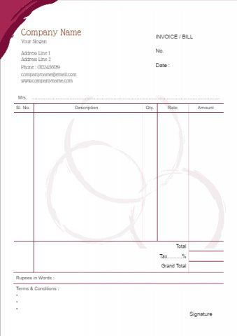 jewellery bill book | sajid ali jewellers | Pinterest | Template