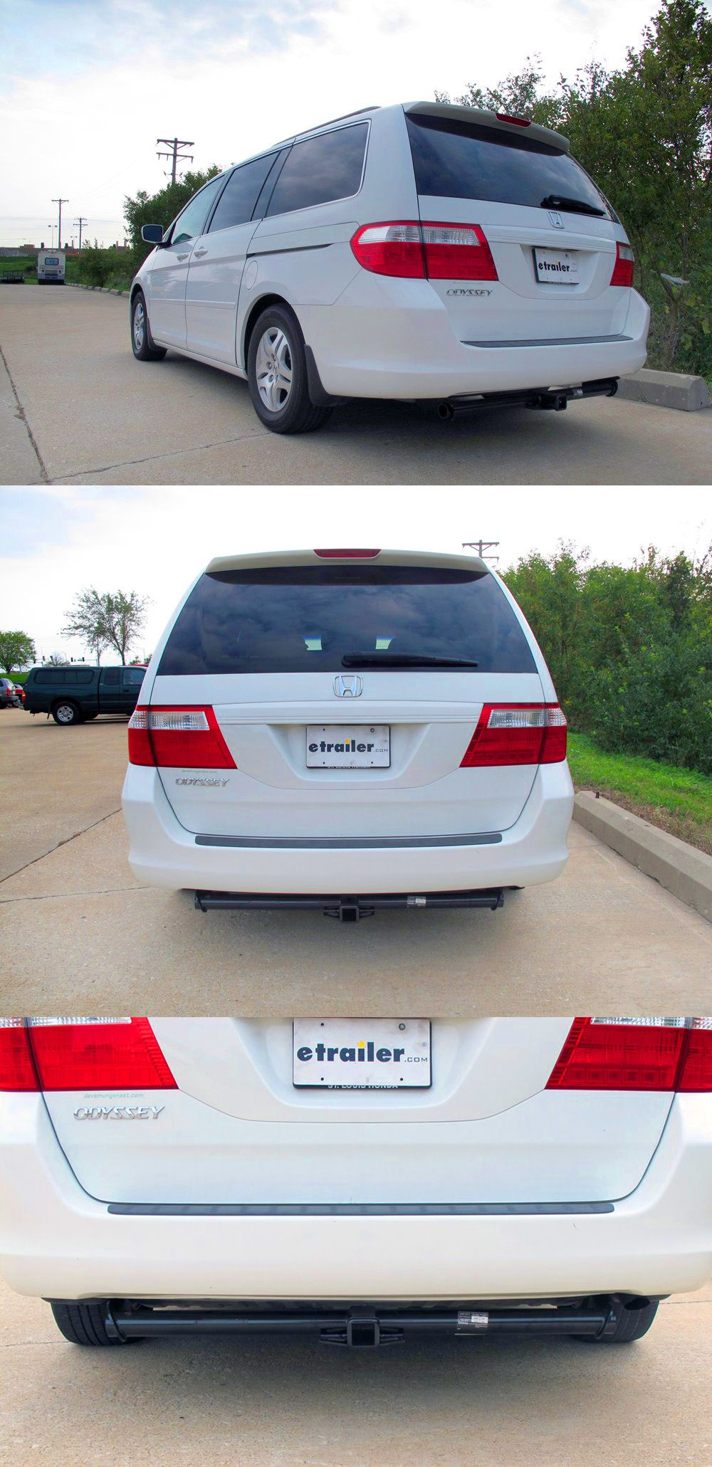 Accessories For The Honda Odyssey Includes The Draw Tite Trailer Hitch!  Fully Welded Trailer Hitch Is Strong And Durable And Works Great For Bike  Racks, ...