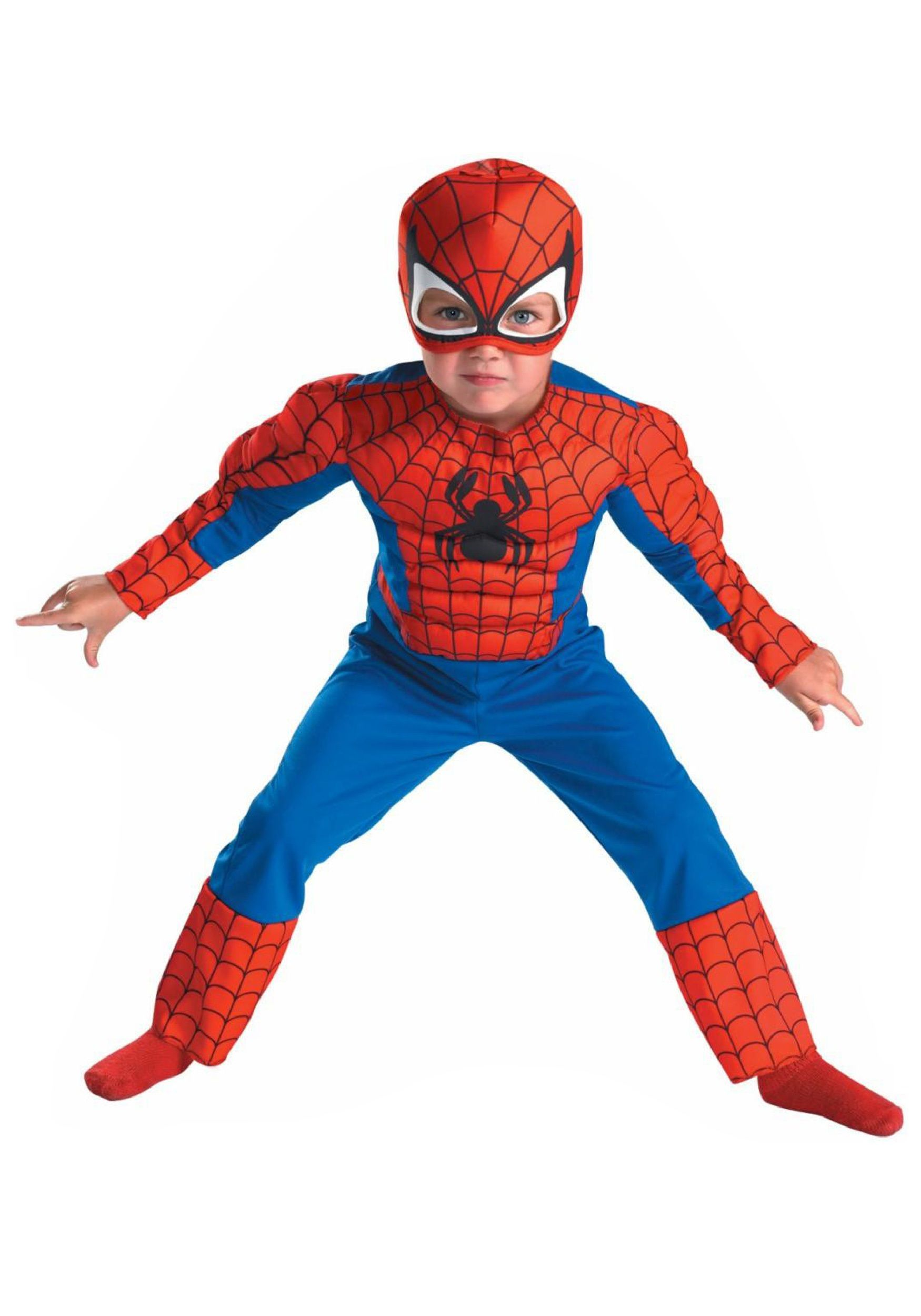 Deluxe Toddler Spiderman Costume  sc 1 st  Pinterest & Deluxe Toddler Spiderman Costume | Halloween | Pinterest | Toddler ...