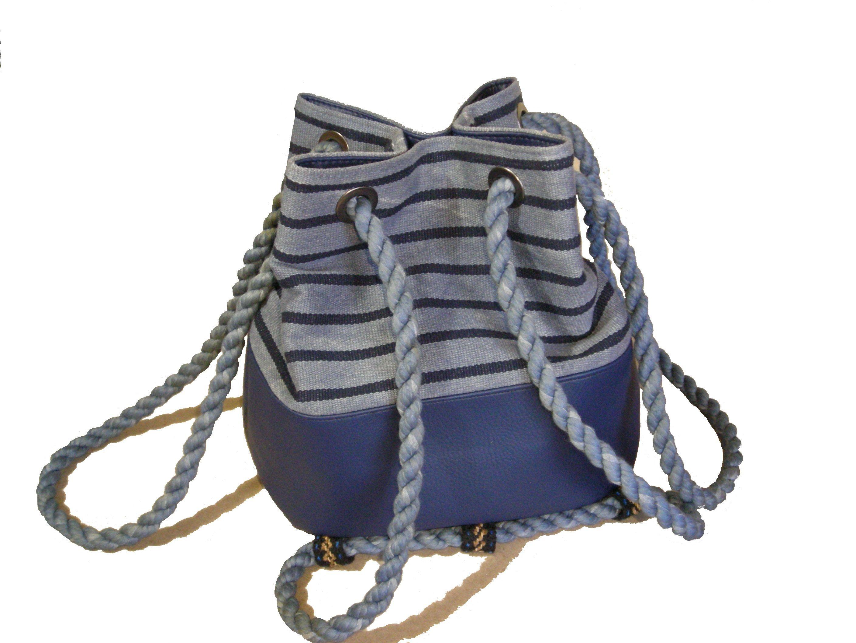 hace Pinterest que se bolsos Nautilus saco de Bolso de mochila tela vPFBwIqwx