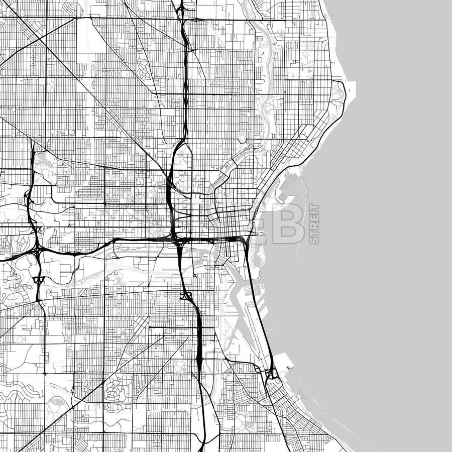 Map of Milwaukee, Wisconsin | Streit