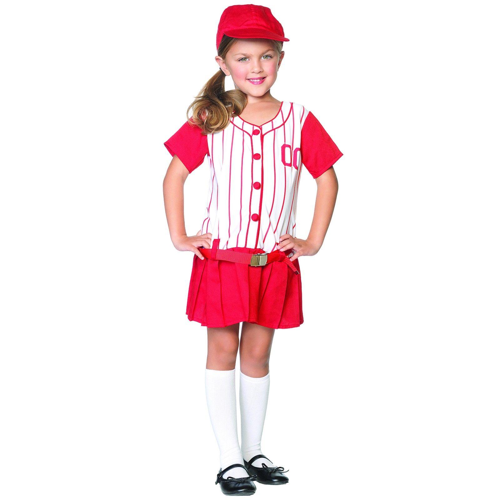 lil miss slugger child costume baseball halloween - Baseball Halloween Costume For Girls