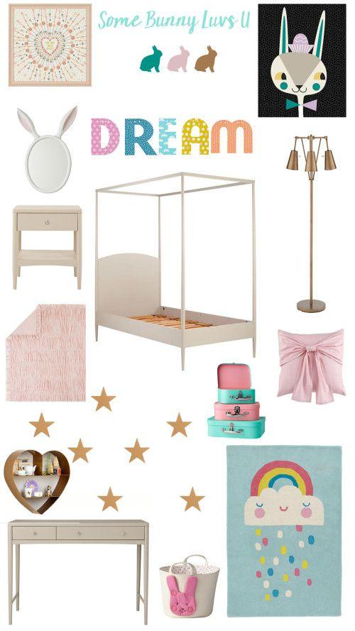 Girls Bedroom Ideas // Land Of Nod