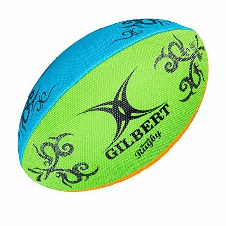 Gilbert Rugby Unisex Multi Rugby Beach Ball Multi Colour Size 4