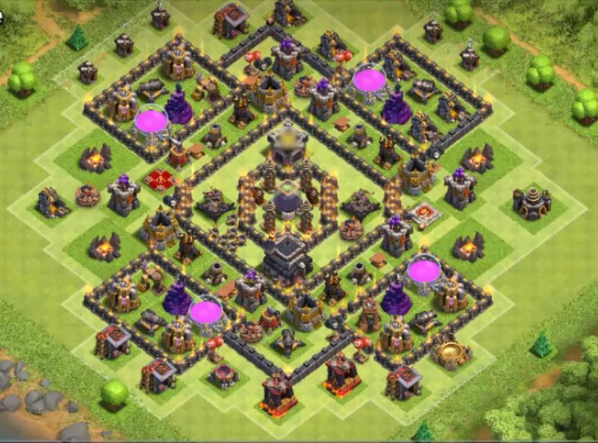 Th9 Best Defence Base 2019 8