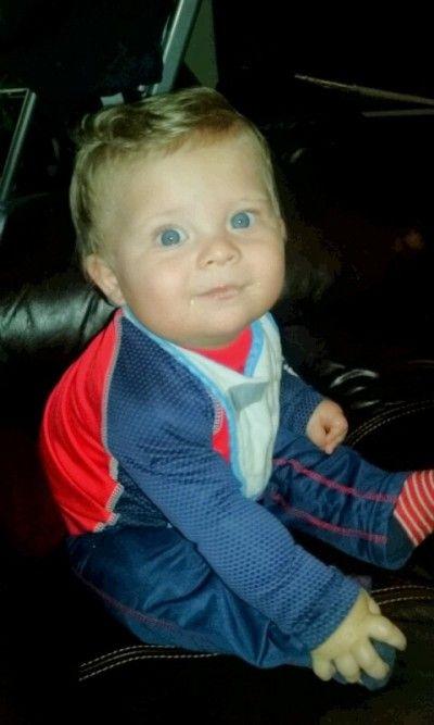 My Blonde Hair Blue Eyes Boy Please Vote Cutest Kid Contest As