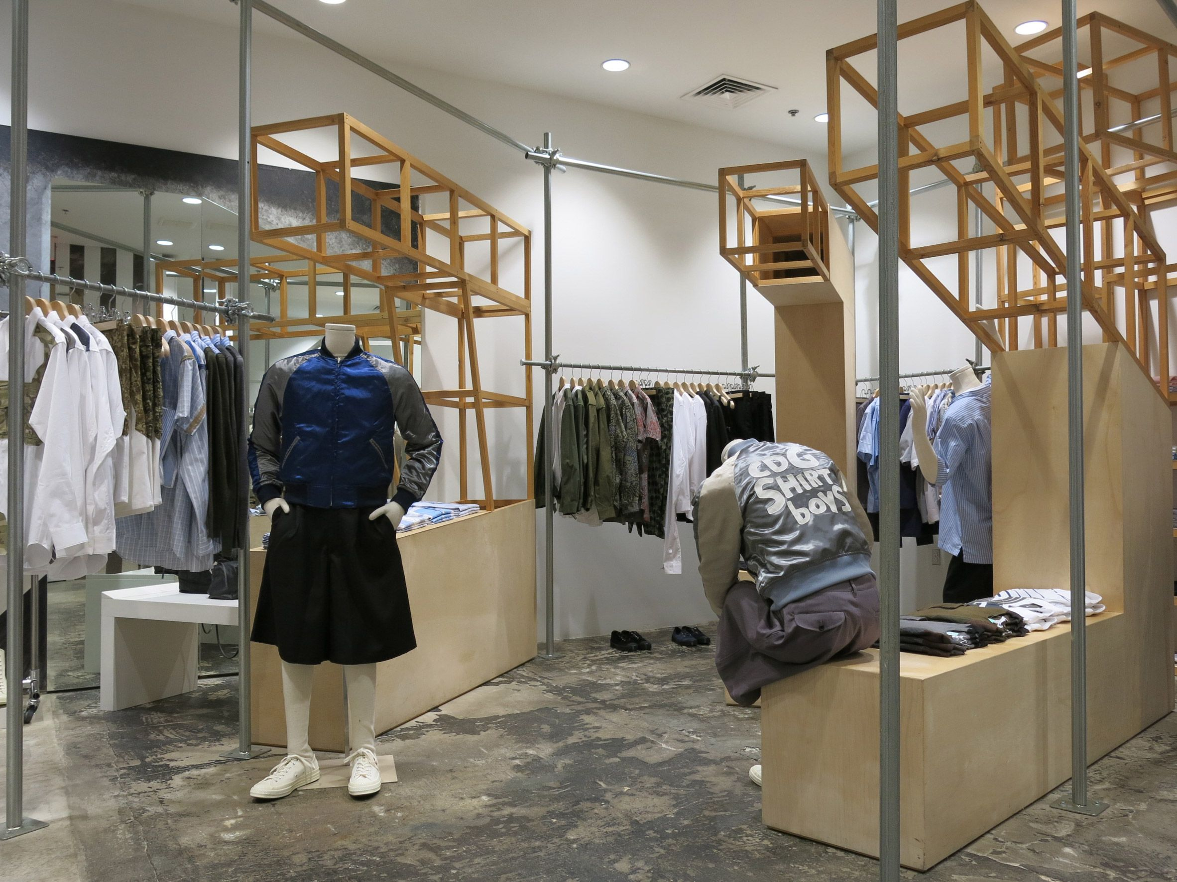 787e8d6d02 The New York multi-brand fashion store run by Comme des Garçons has  received a makeover