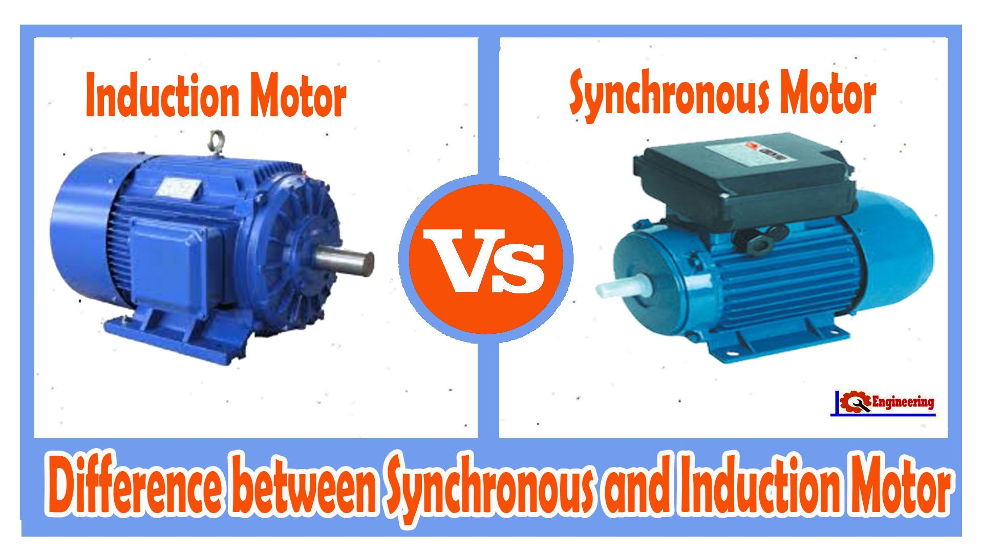 The device of the asynchronous motor, its application