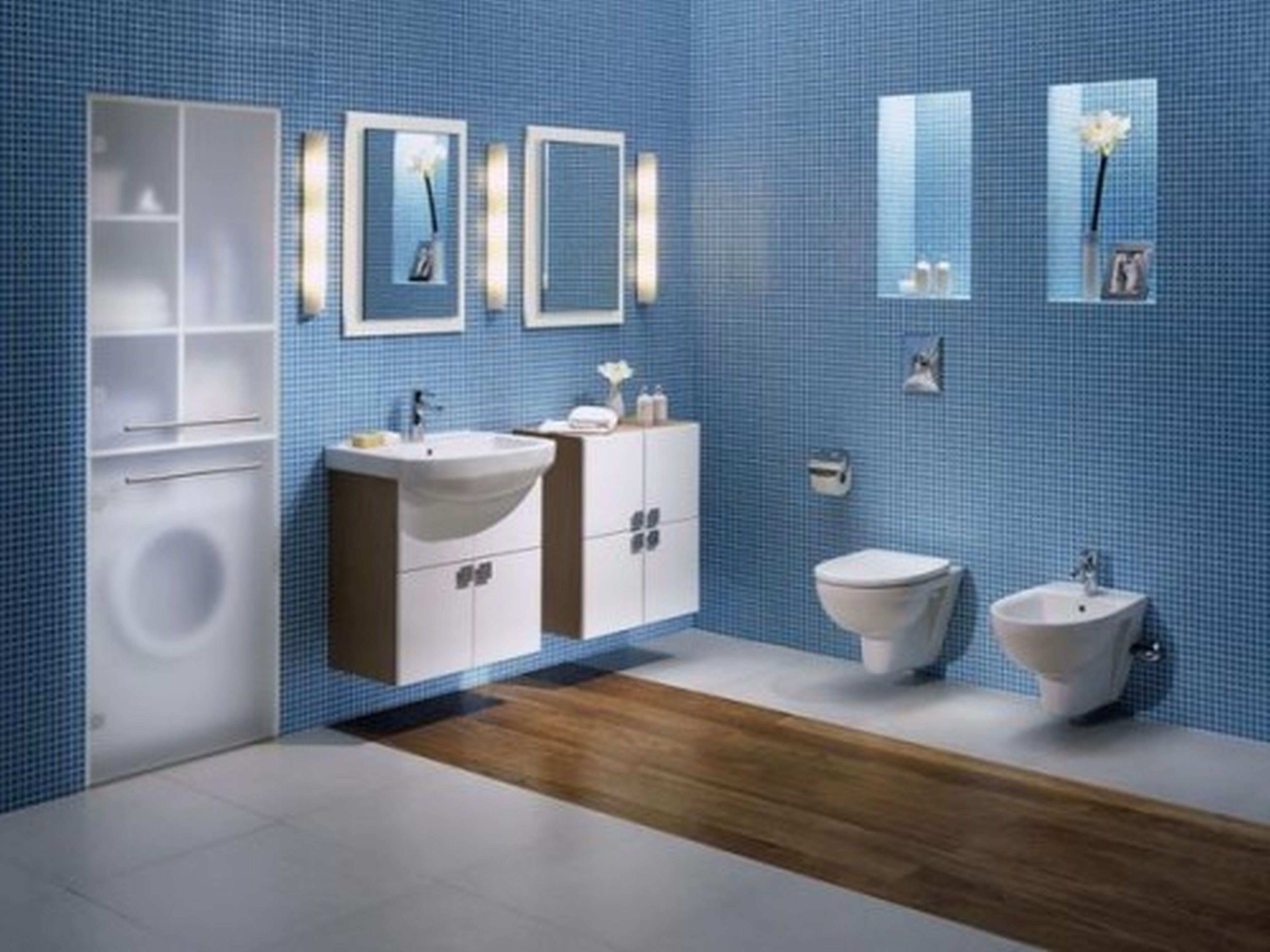 kleine zimmerdekoration badezimmer idee grun, home dekoration fotos, interior design, awesome, blau, grün, Innenarchitektur