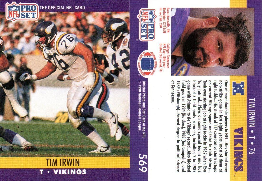 1990 pro set football cards series 2