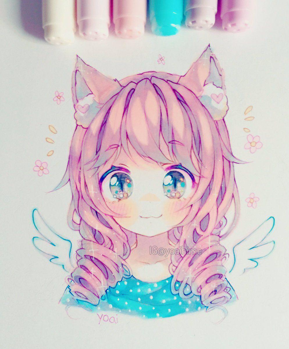 Insertado Cute Art Anime Art Girl Anime Art