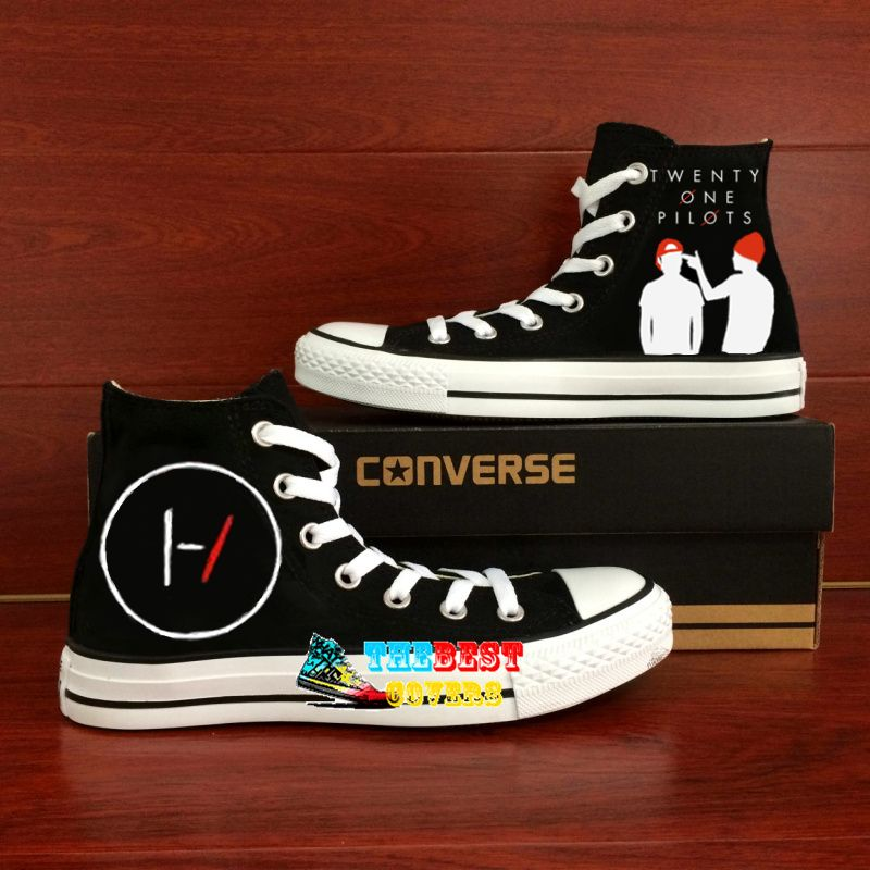 popular stores reliable quality detailed look Twenty One PIlots design shoes Converse, if you want to see ...