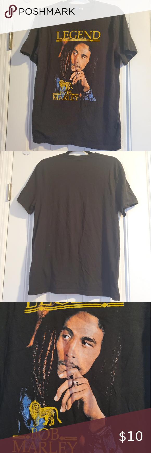 Bob Marley Tshirt In 2020 T Shirt Marley Bob Marley