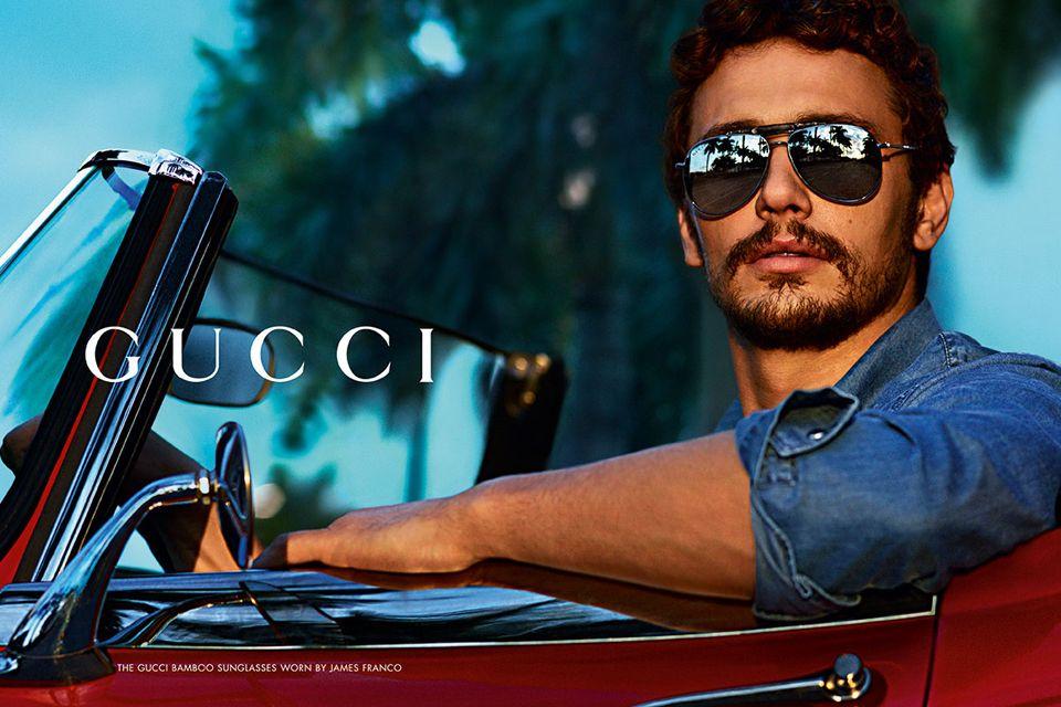 james franco icone de mode style pub gucci   gucci 66fcdc941e15
