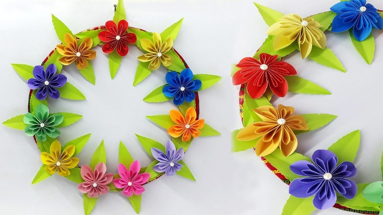 How To Make Easy Paper Wall Hanging Amazing Diy Room Decor