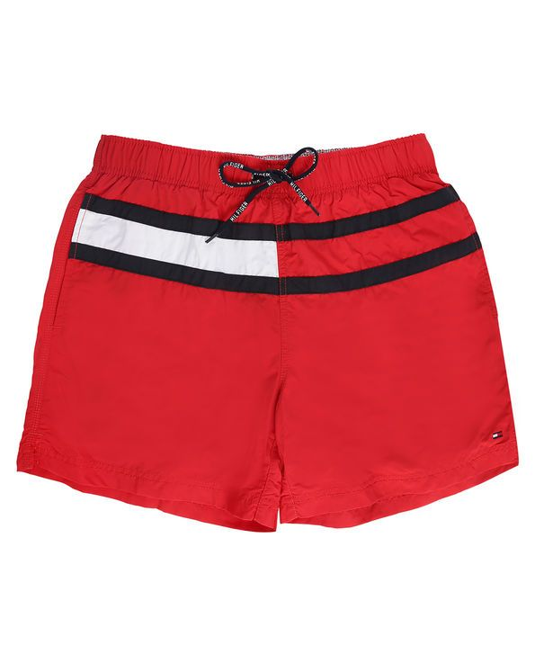 1033d0259d2eb Red Trunk Flag Swim Shorts TOMMY HILFIGER