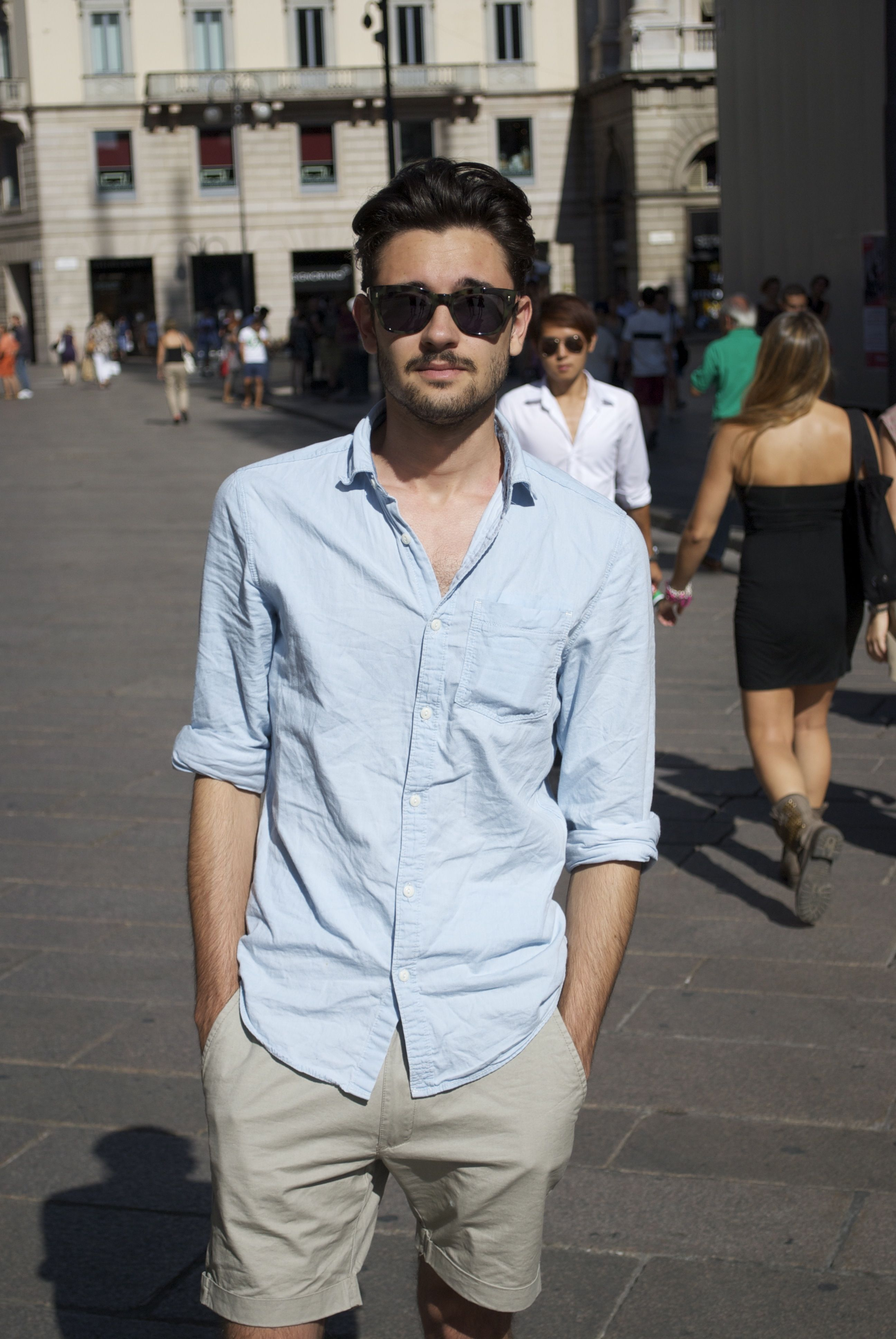 Andrea Borsotti in our 0935 sunglasses. Lives in Milan studying at Università Cattolica del Sacro Cuore