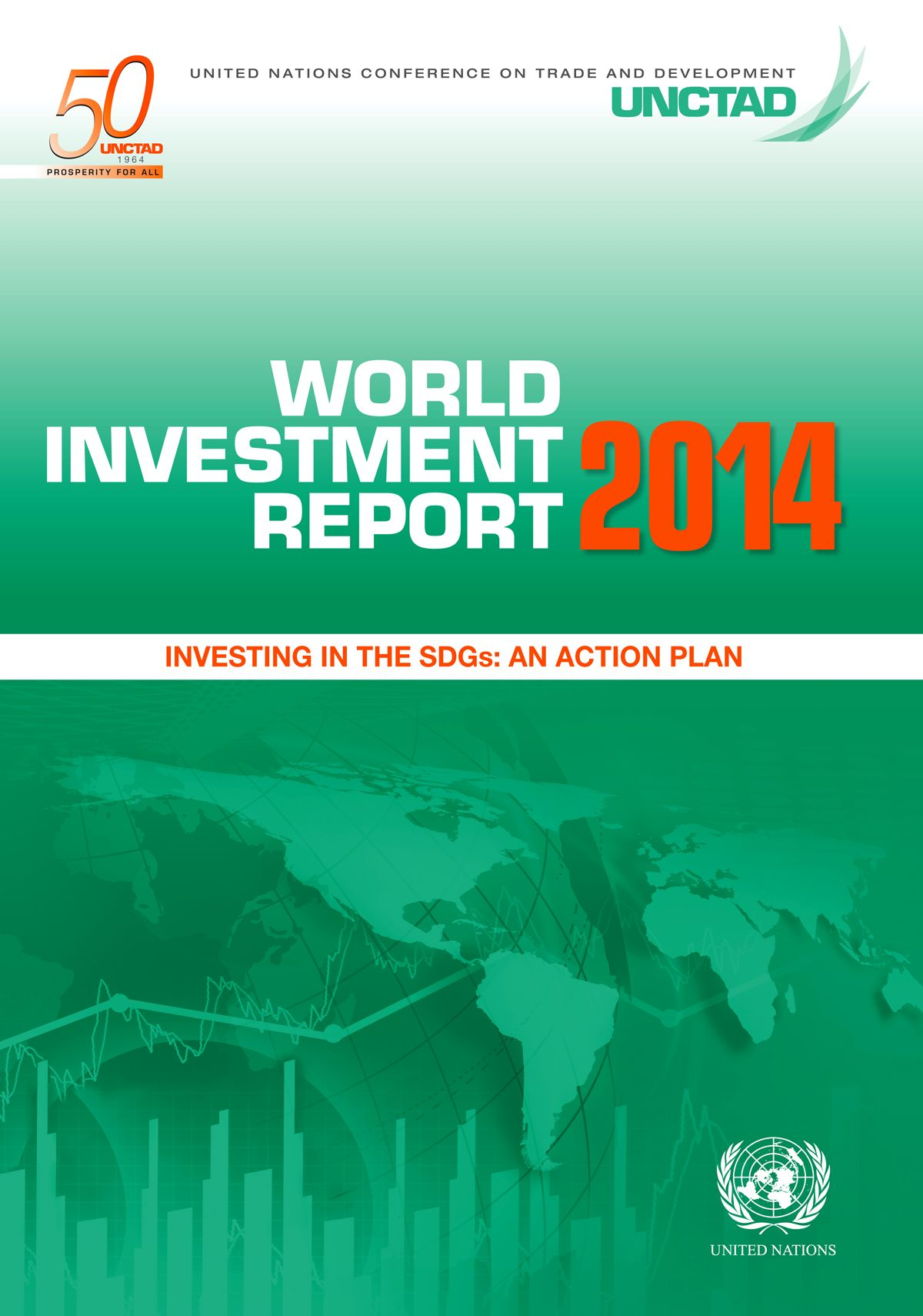 The World Investment Report Series Provides The Latest
