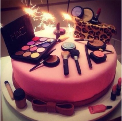 MAC makeup themed cake Made by Bezmerelda Cake, Mac