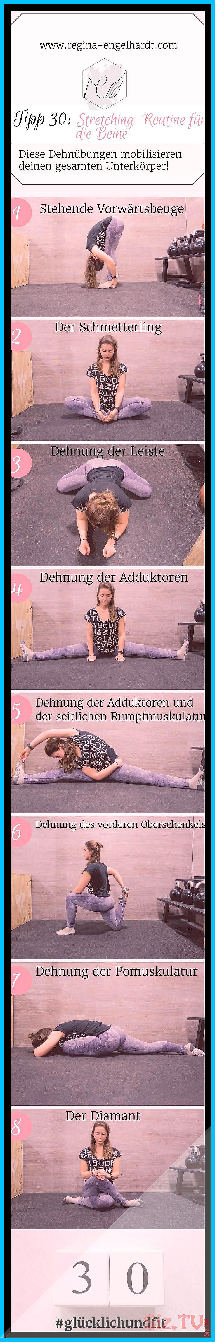 Tipp 30 Stretching-Routine f r die Beine Tipp 30 Stretching-Routine f r die Beine Regina Engelhardt...
