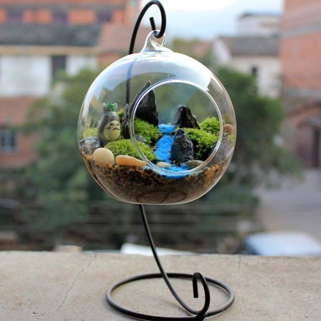 Teardrop Glass Terrarium #inspireuplift explore Pinterest