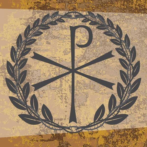 Chi Rho Symbol Tattoo Letters Of Christ And Directly Ties The