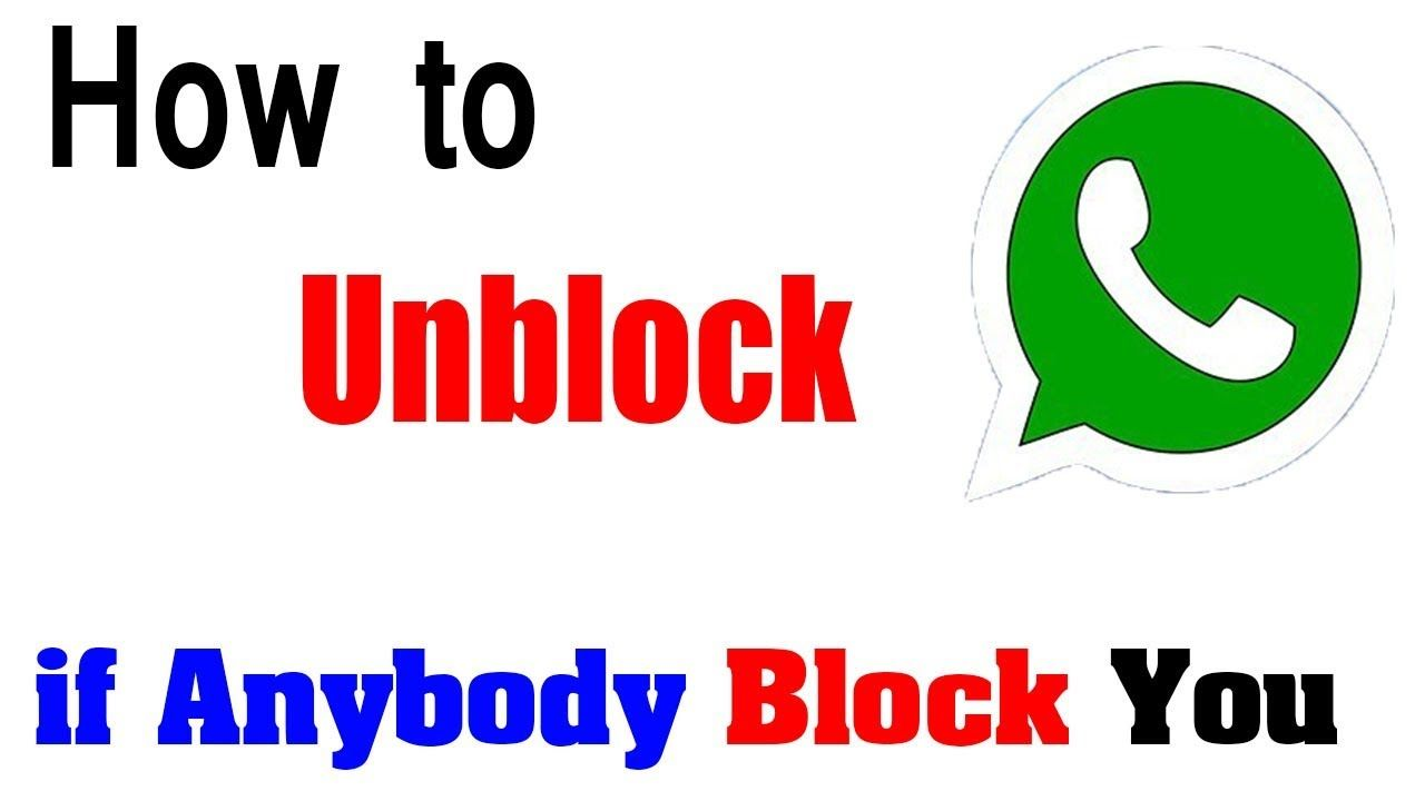 How to chat even if somebody blocked you on whatsapp
