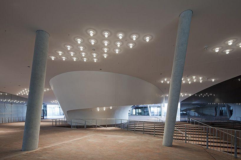 Herzog De Meuron S Elbphilharmonie Moves To Completion Elbphilharmonie Hamburg Concert Hall Elbphilharmonie Concert Hall