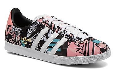 best website 63bed d6e69 Womens Adidas Originals Gazelle og w Low rise Trainers in Multicolor