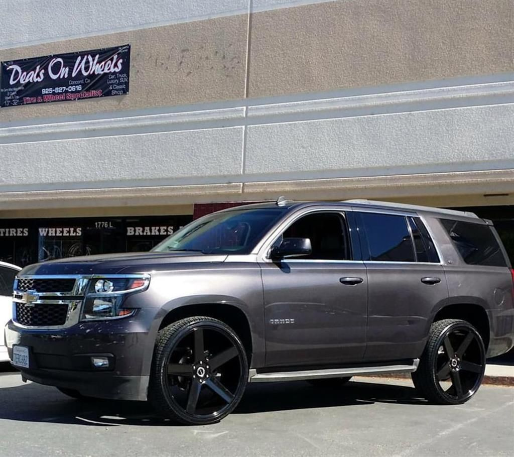 Chevrolet tahoe by strada wheels click to view more photos and mod info