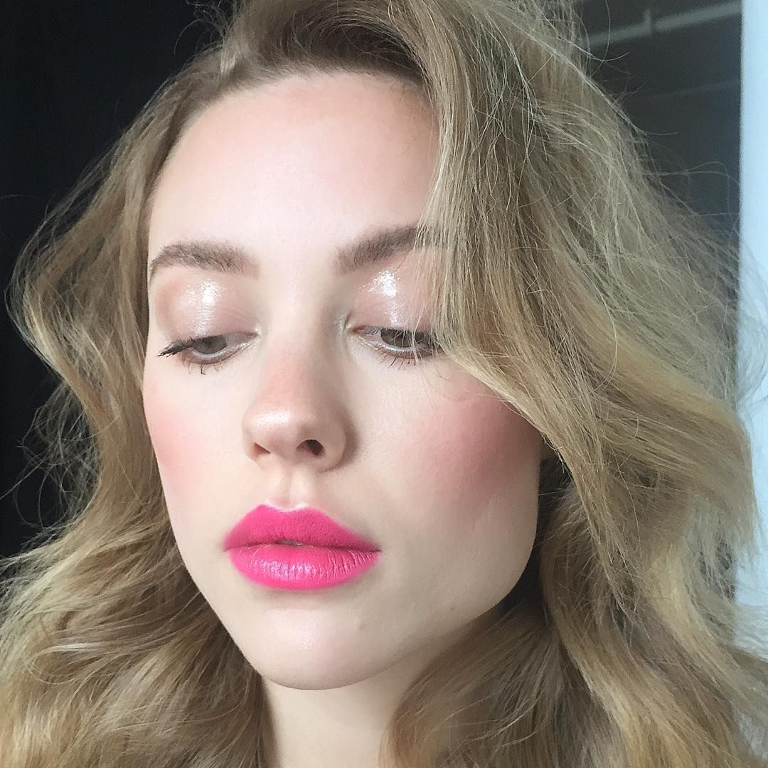 Drugstore Spring Peachy Glowy & Glossy Lids Makeup