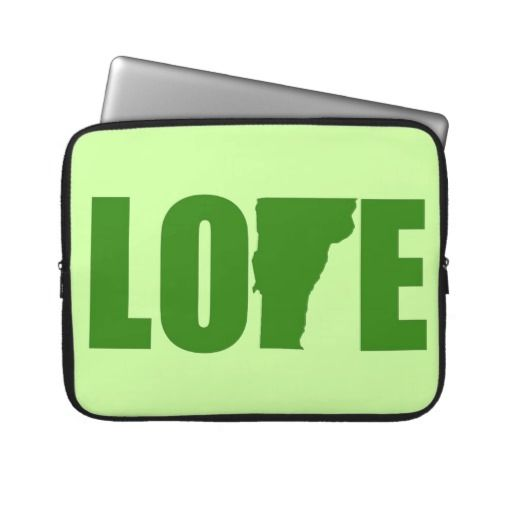 Vermont Love Laptop Sleeve