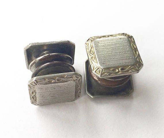 Rectangular Celtic Design Cufflinks Gift Boxed Ladies Unisex Cuff Links