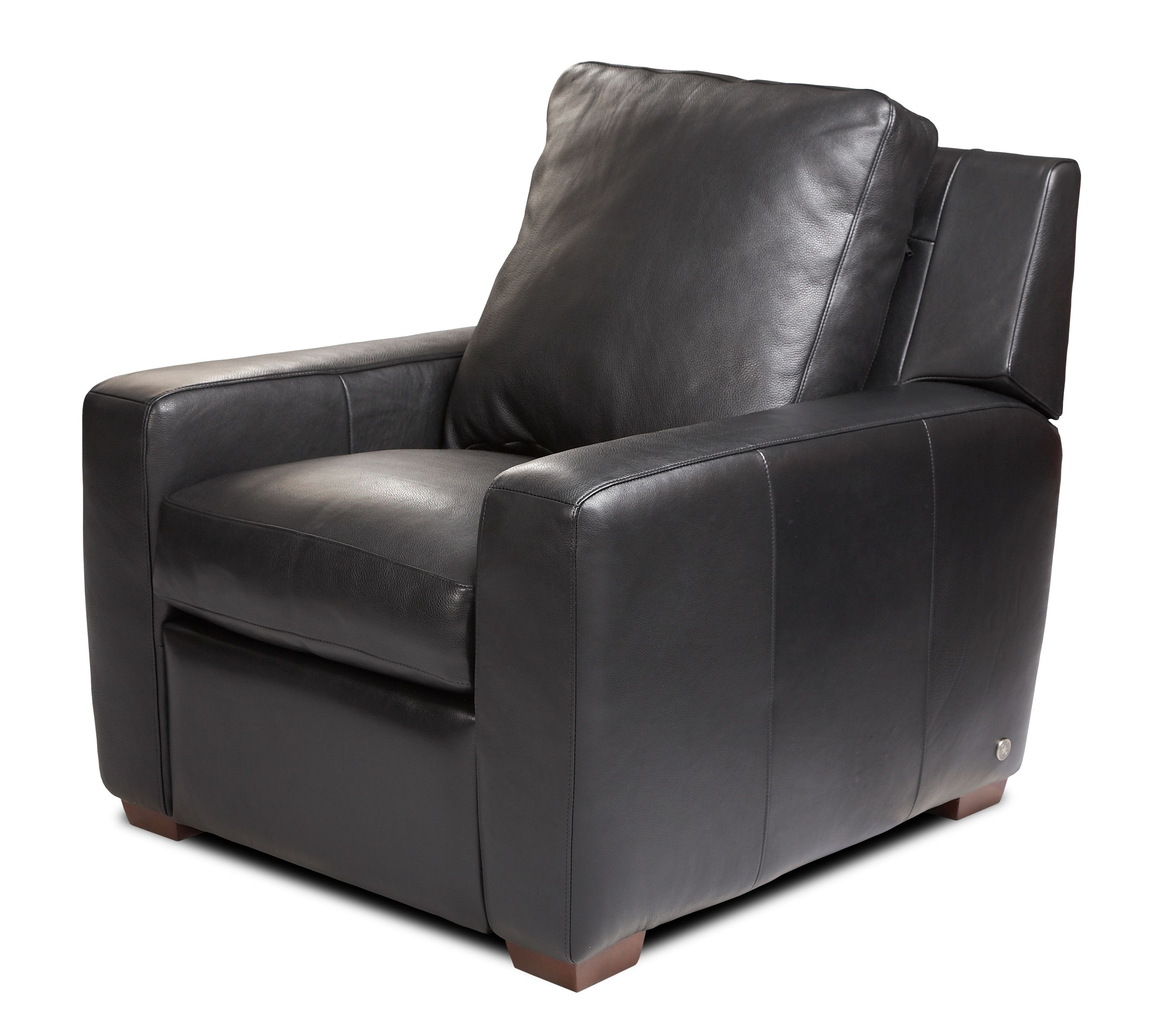 Custom Accent Chairs American Leather Ottoman bench