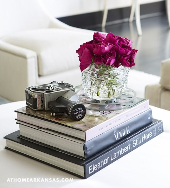 Livros para vestir a sua mesa de centro.