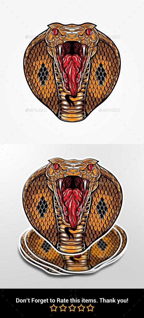 Angry King Cobra Head Cobra Tattoo King Cobra Tattoo King Cobra