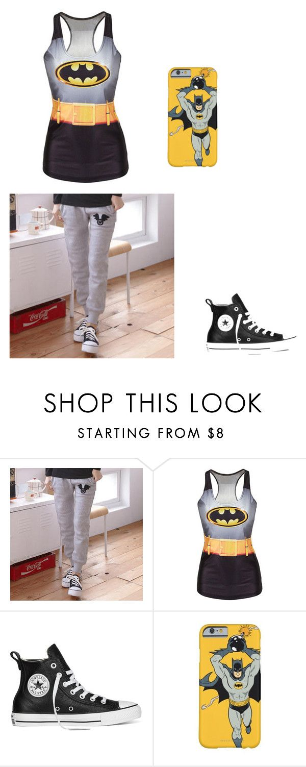 """""""chachi g"""" by shakiadinkins-1 on Polyvore featuring RingBear and Converse"""