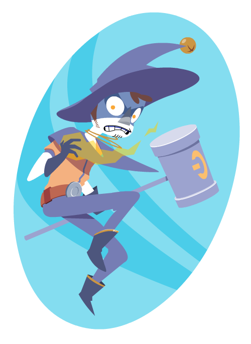 Battlemage Shen! Not for a project, just for fun.