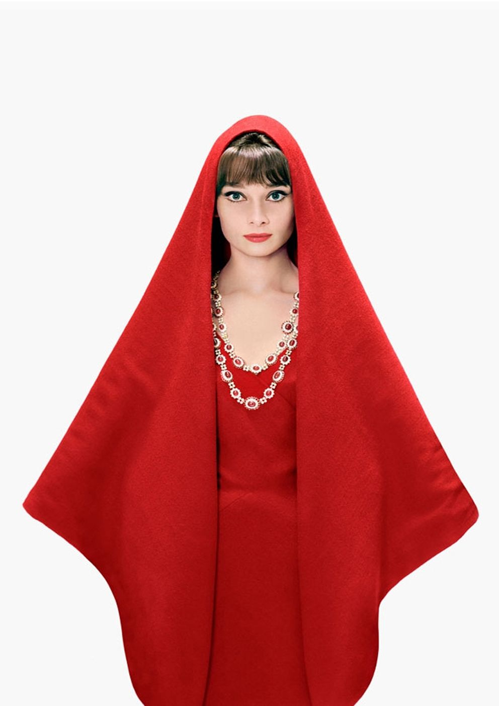 Audrey Hepburn for Harper´s Bazaar, 1961 by Richard Avedon