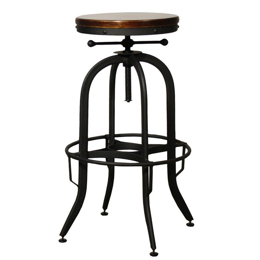 adjustable height swivel bar stool. Del City Adjustable Height Swivel Bar Stool