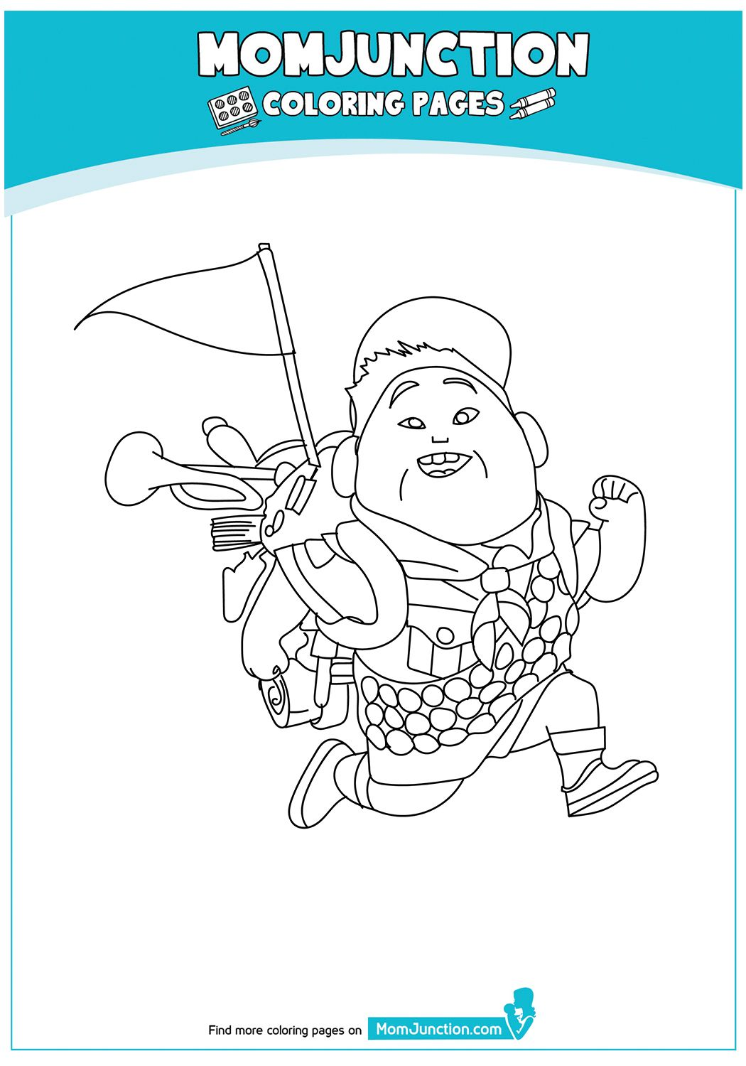 print coloring image - MomJunction | Coloring pages, Color ...