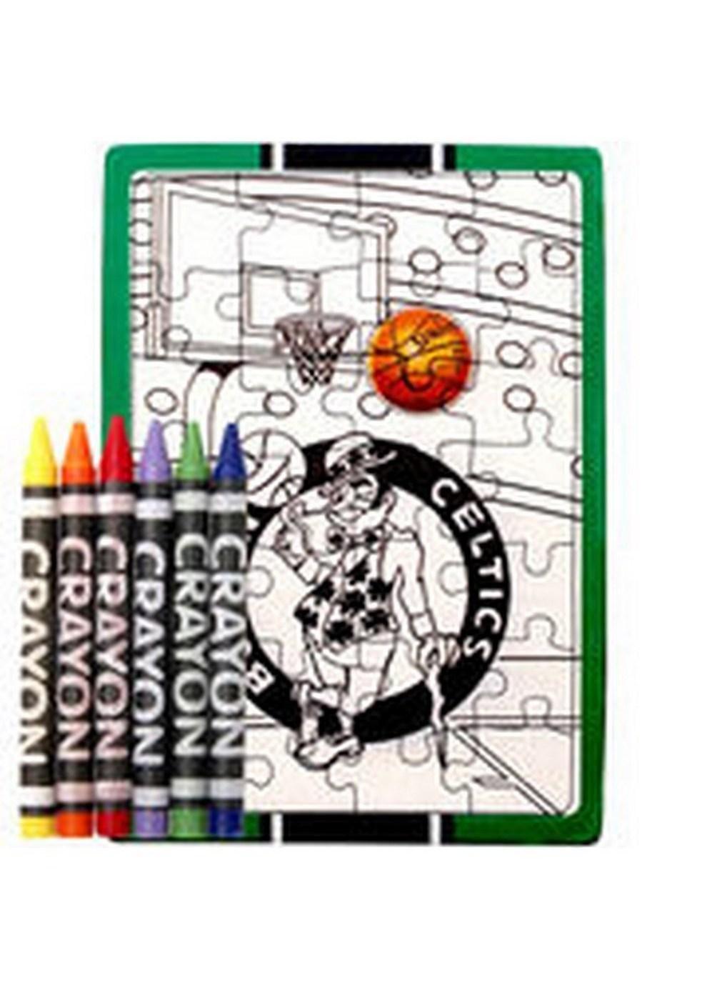 - Color Your Own Puzzle - NBA Boston Celtics Boston Celtics