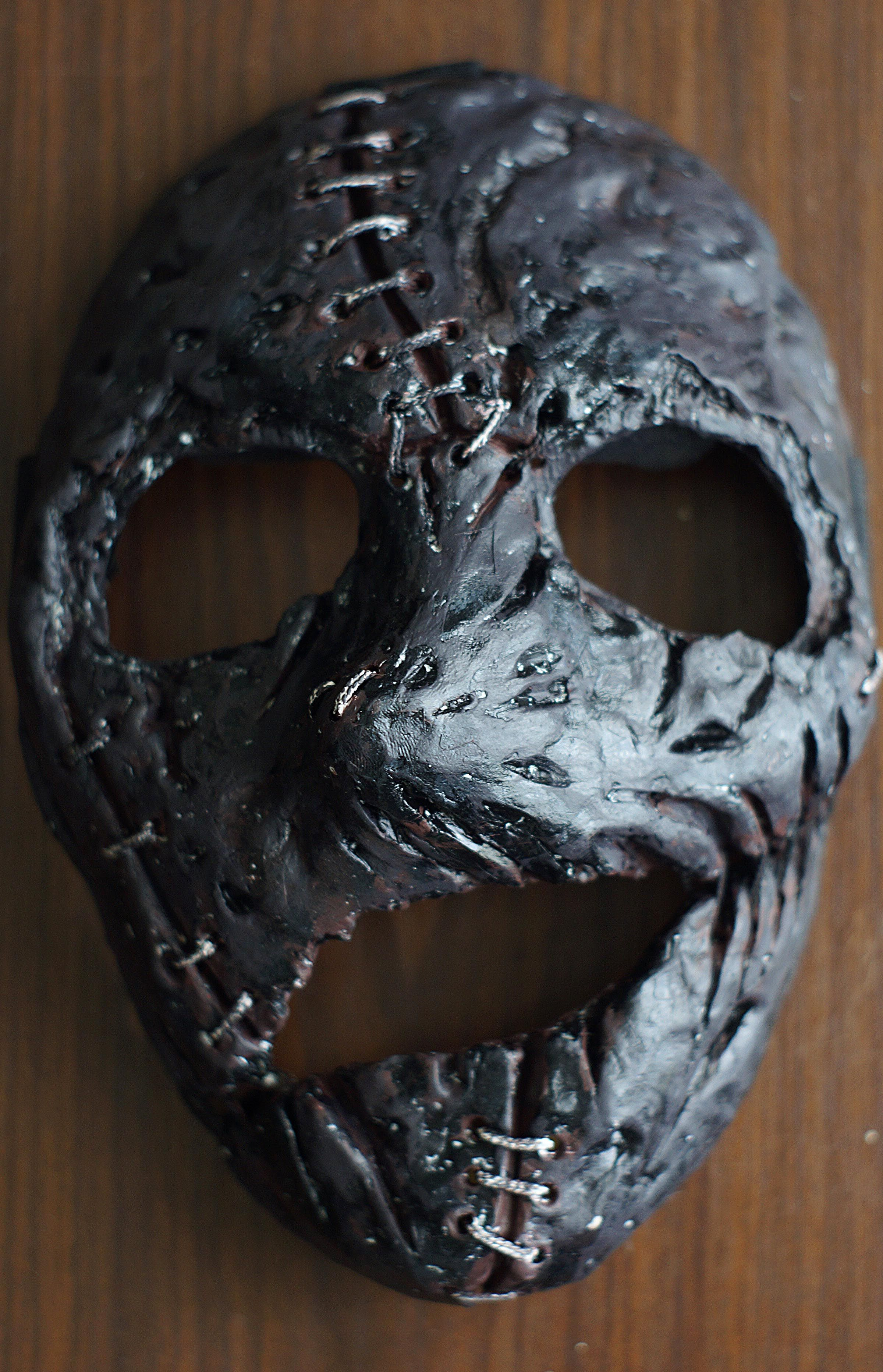 Corey Taylor Vol.3 mask Heavy Metal band Stitched mask in