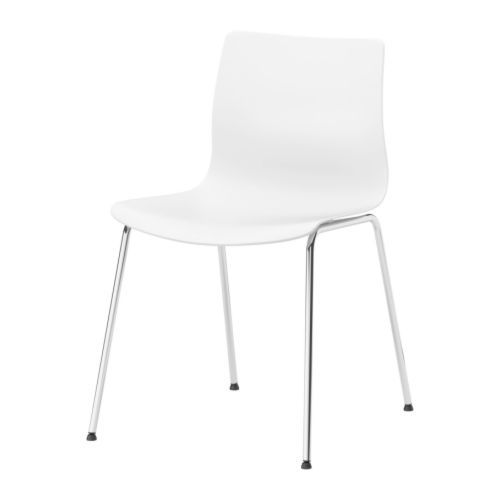 Attractive $79.99 ERLAND Chair IKEA Rounded Back For Additional Sitting Comfort.