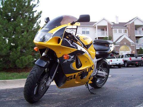 1997-2000 Suzuki GSX R600 GSX R600W GSX R600X Motorcycle Repair