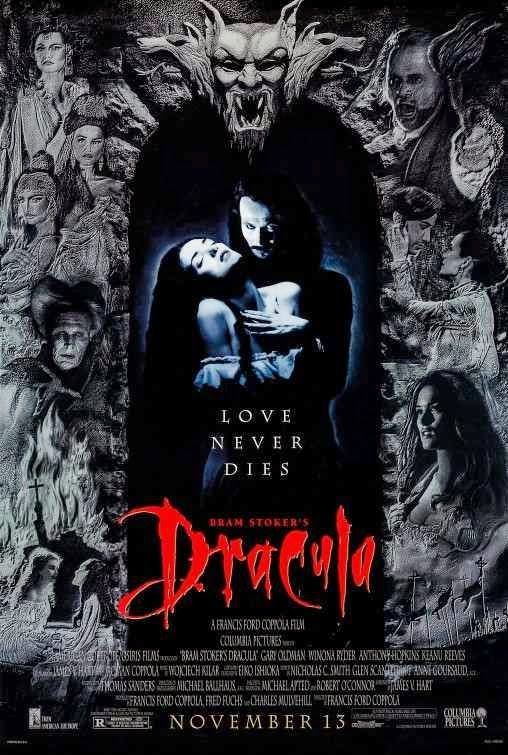 Dracula 1992 Dual Audio Hindi Dubbed Movie Free Download Best Vampire Movies Vampire Movies Horror Movie Posters